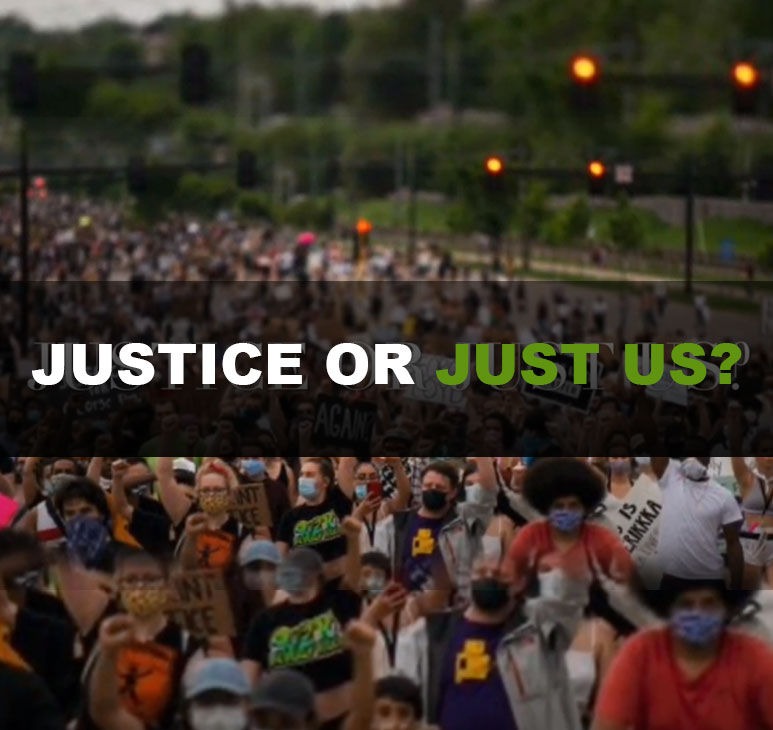 JUSTICE or JUST US? Facebook Live Town Hall Meeting